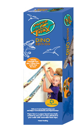 Paper Trax Toys: Dino Pack